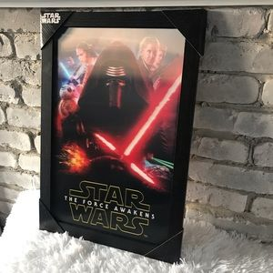 Star Wars-The Force Awakens-One Sheet Framed 13X19